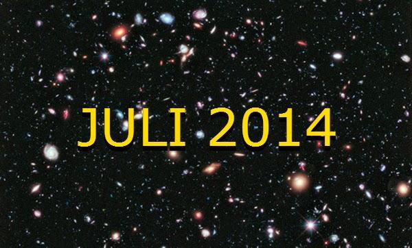 Wajib Lihat! Inilah Daftar Peristiwa Astronomi Juli 2014