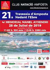 21a TRAVESSIA D'AMPOSTA NEDANT L'EBRE. 4t MEMORIAL MANEL AYXENDRI