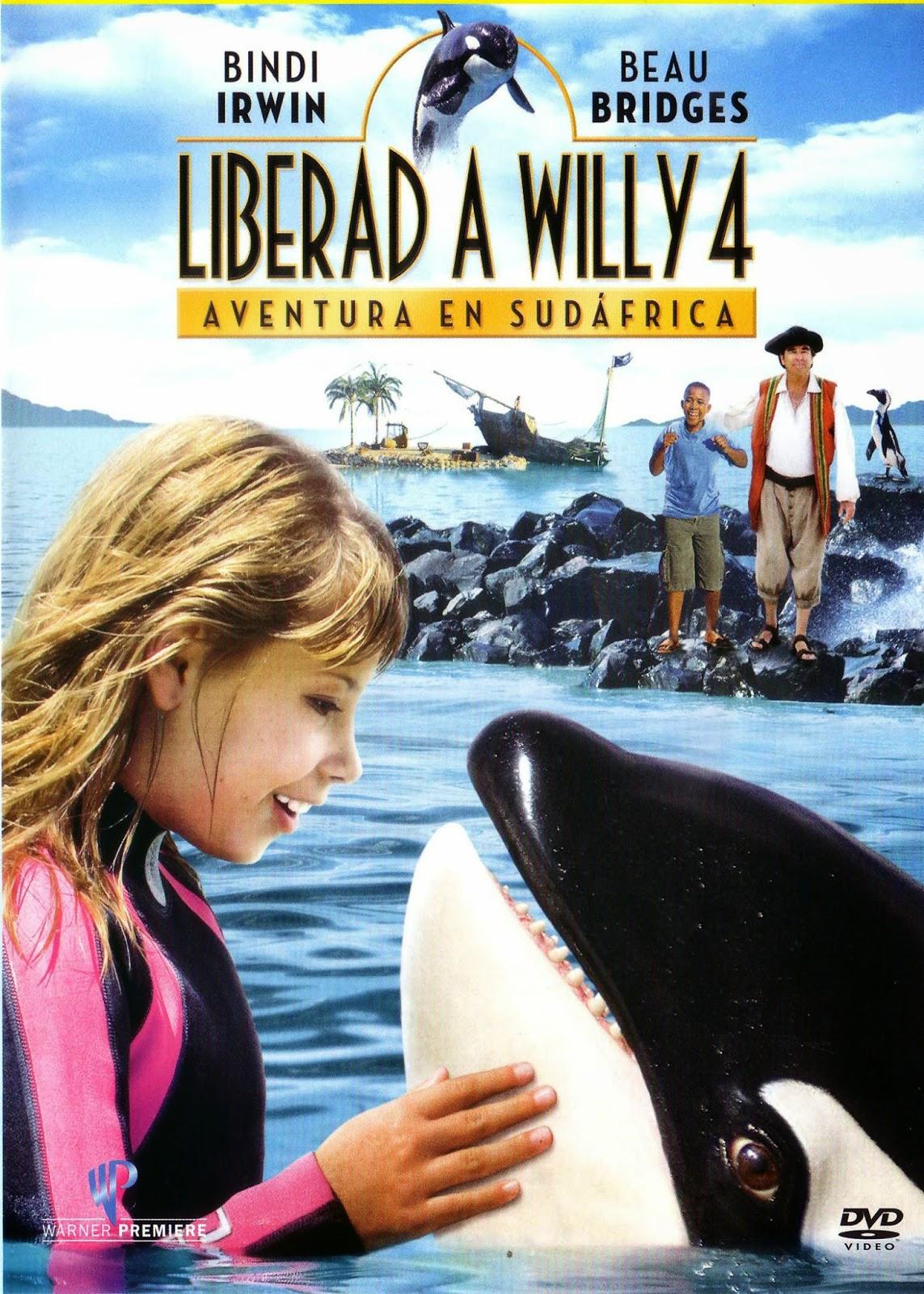 Liberad a Willy 4 - Aventura en Sudafrica (2010)
