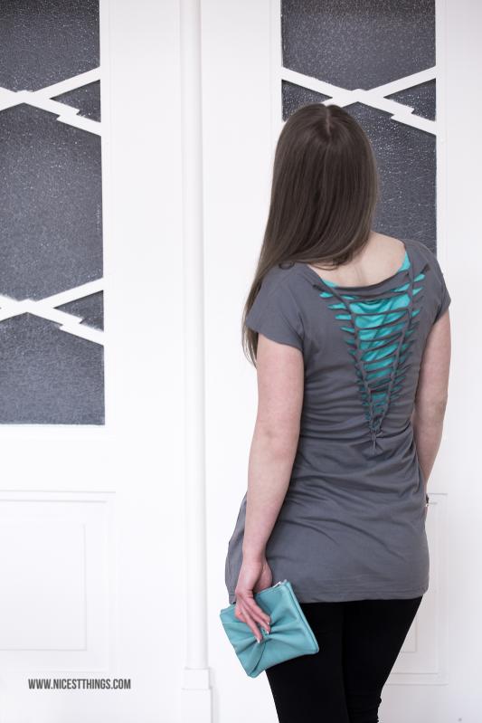 DIY: Kleid aus T-Shirt machen - ohne Nähen - Nicest Things