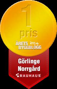 Vinnare av Årets Byggblogg 2014