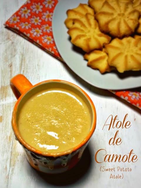 Atole de Camote - lacocinadeleslie.com