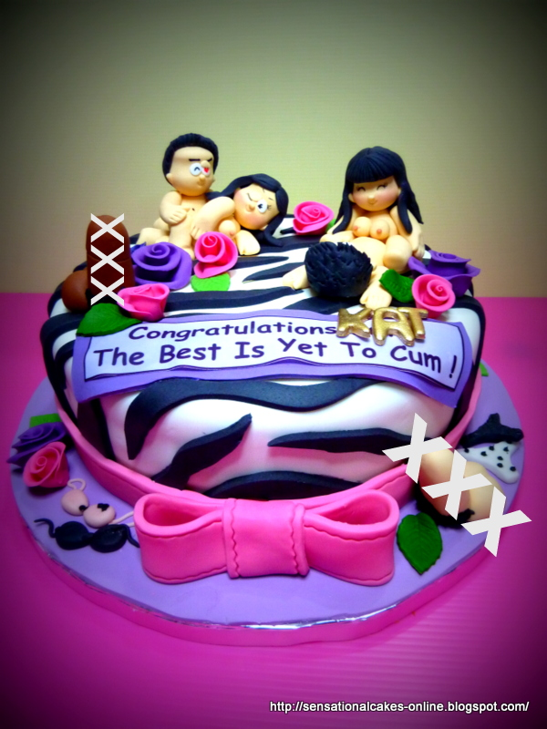 Naughty Bday Cake Images : The Sensational Cakes: Naughty Cakes Singapore / Hen s ...