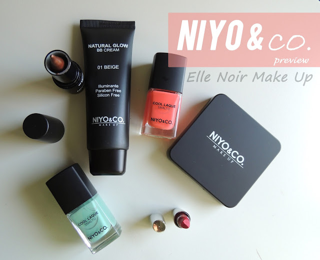Prodotti make up NIYO & CO. che ho ricevuto
