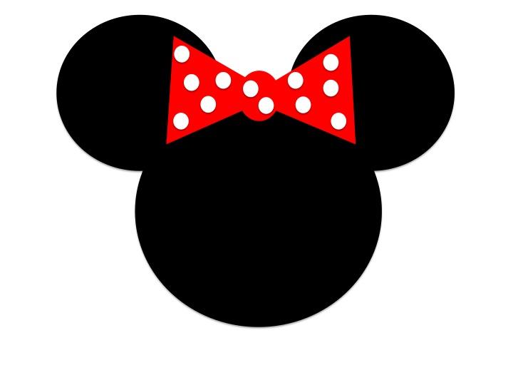 Minnie Mouse for a DIY Disney themed photo bookRed Minnie Mouse Head Clip Art