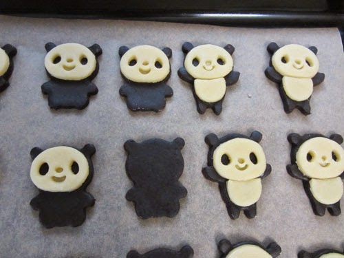 panda plätzchen
