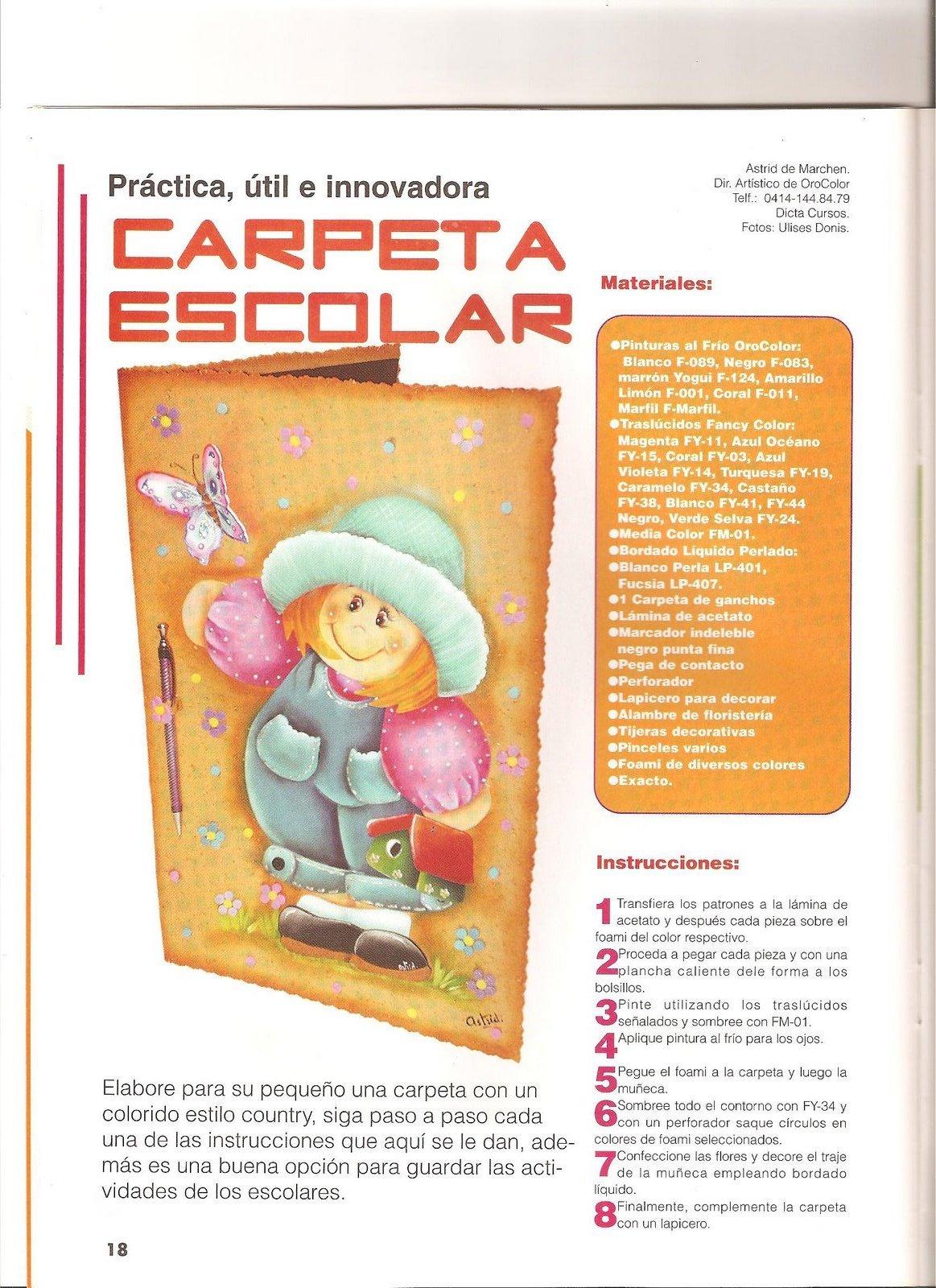 CoSqUiLLiTaS eN La PaNzA BLoGs: FOAMY ESCOLAR (CARPETAS,CUADERNO ...