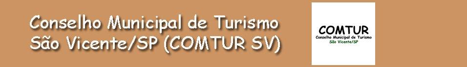 Conselho Municipal de Turismo São Vicente / SP - COMTUR sv