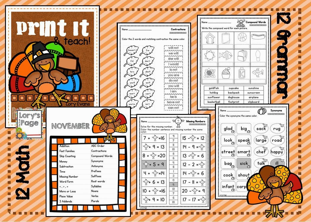https://www.teacherspayteachers.com/Product/PRINT-it-Teach-NOVEMBER-1499014