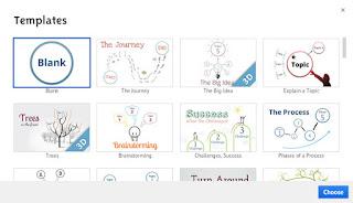 выбор шаблона для того чтобы сделать презентацию онлайн бесплатно