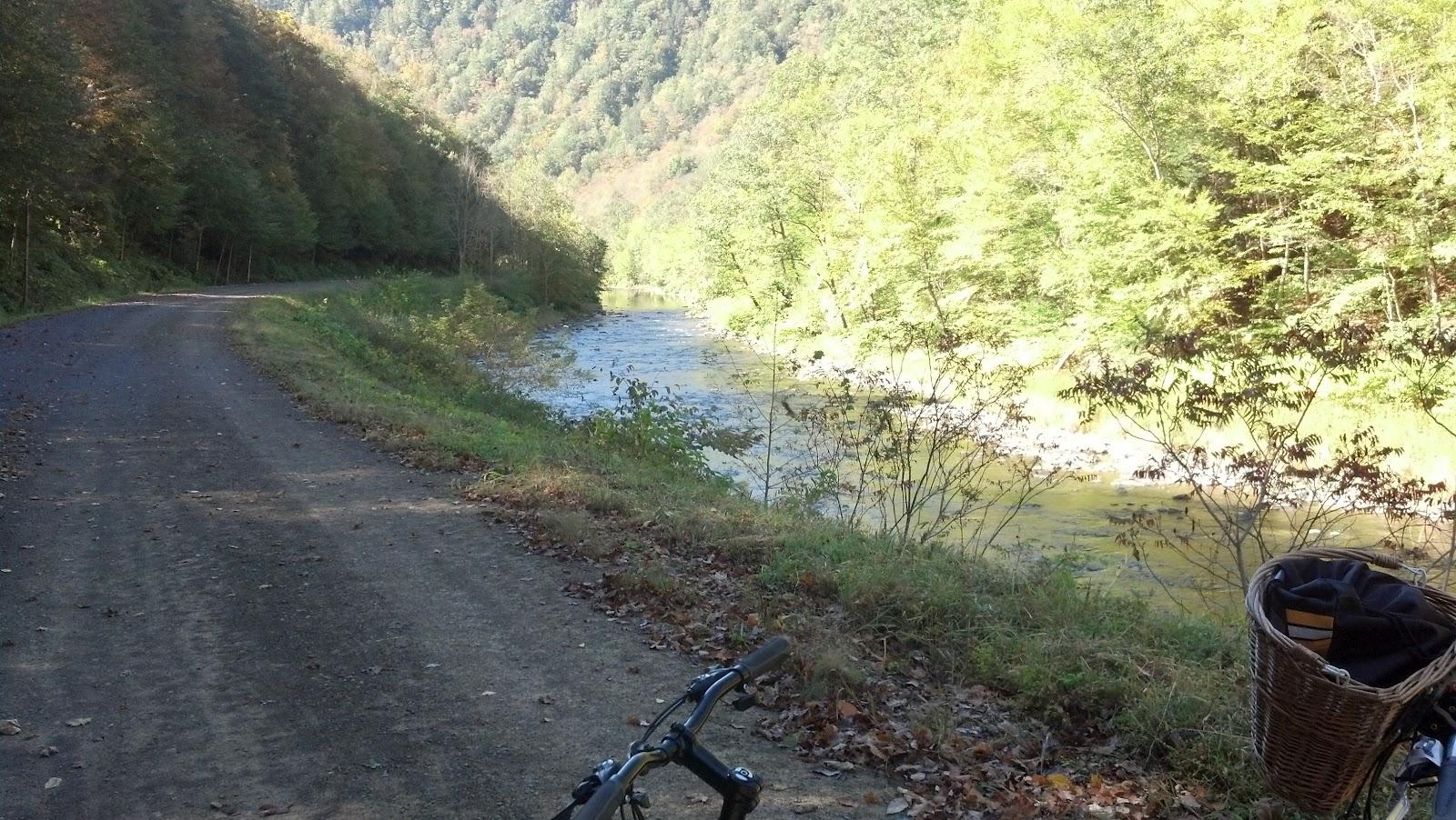 Biking The Pine Creek Rail Trail