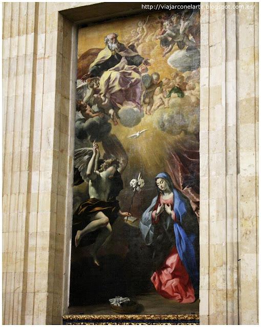 Anunciación de Lanfranco