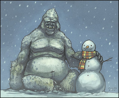 Have an Abominable Christmas by Jesse McGibney