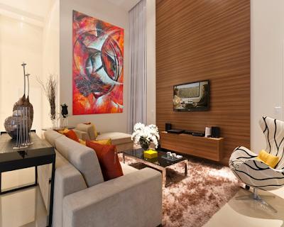 model ruangan rumah type 45