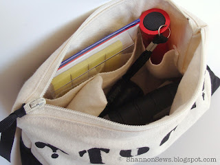 Zipper pouch with lining is a great way to store a few necessary tools
