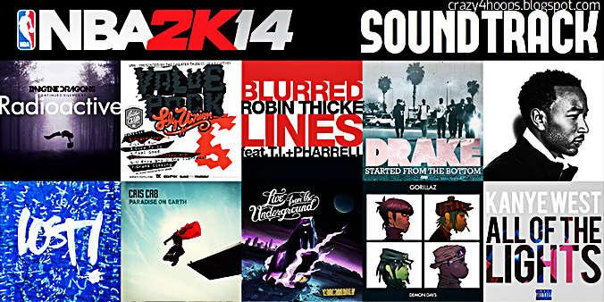 NBA 2k14 Soundtrack Mod for NBA 2k13 Free Download