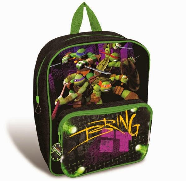 MOCHILA - LAS TORTUGAS NINJA   Mochila Escolar : Teenage Mutant Ninja Turtles  Colegio - Material Escolar - Infantil