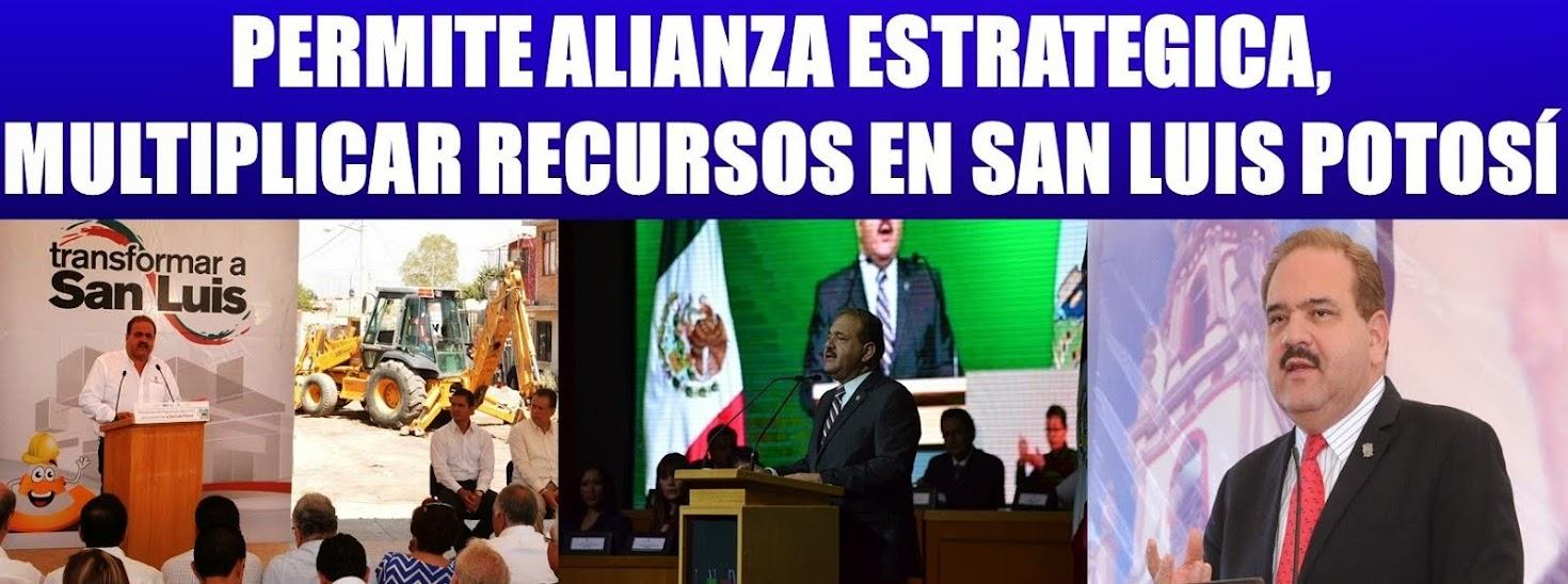 Transformemos en grande a SLP: Mario García rinde su segundo informe de gobierno municipal.