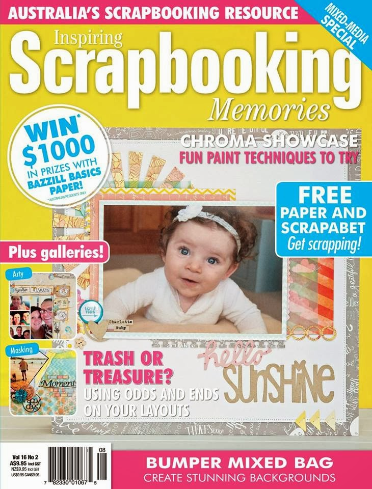 COVERGIRL! Scrapbooking Memories Magazine