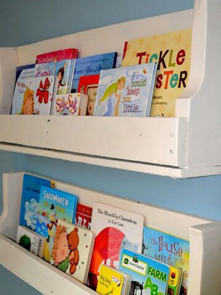 Manualidades decoraci n pintura enero 2013 - Estanteria pared infantil ...