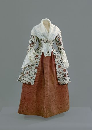 Quilt Petticoats Art Museums Century Gowns Historical