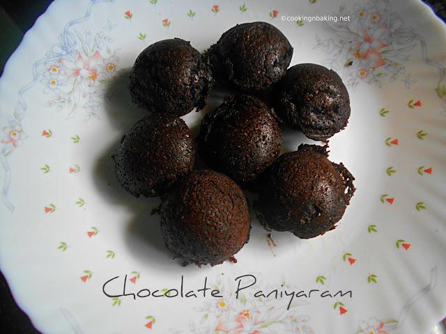 Chocolate Paniyaram