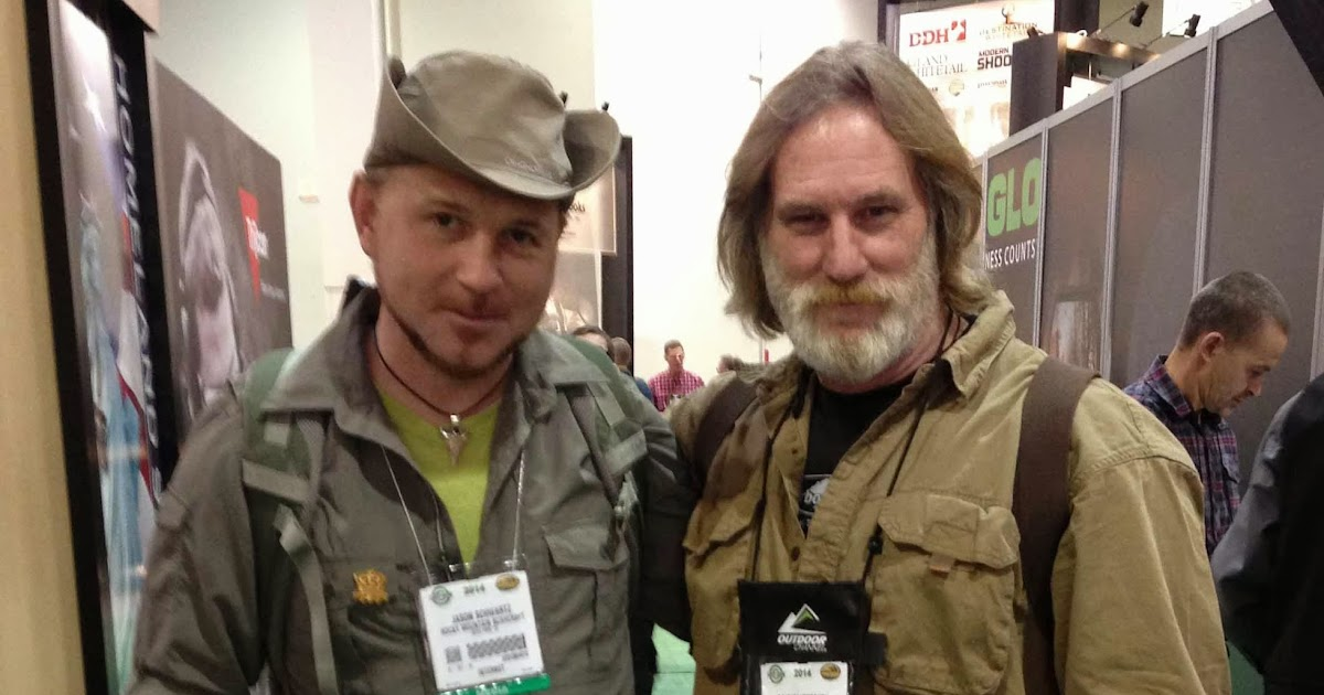 Rocky Mountain Bushcraft Shot Show 2014 Me With Dave