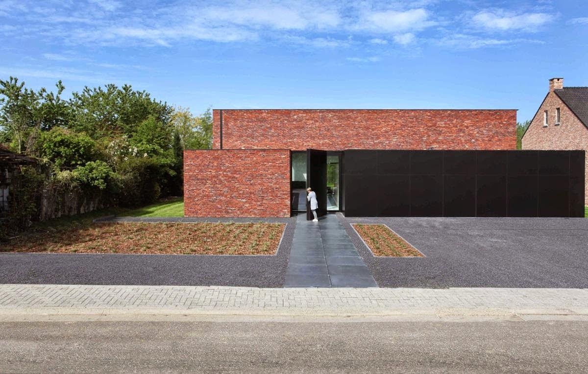 Simplicity love house veeckman g lis belgium egide - Planos de casas minimalistas ...