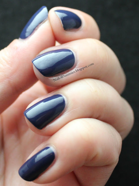 Nails4Dummies - Zoya Fall 2013 Cashmeres - Sailor