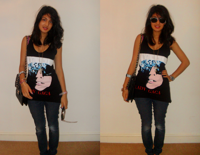 ootd: I'M GOING TO SEE LADY GAGA TOMORROW!