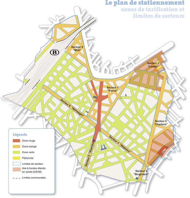 Lecodes plan de stationnement l 39 evaluation for Zone commune