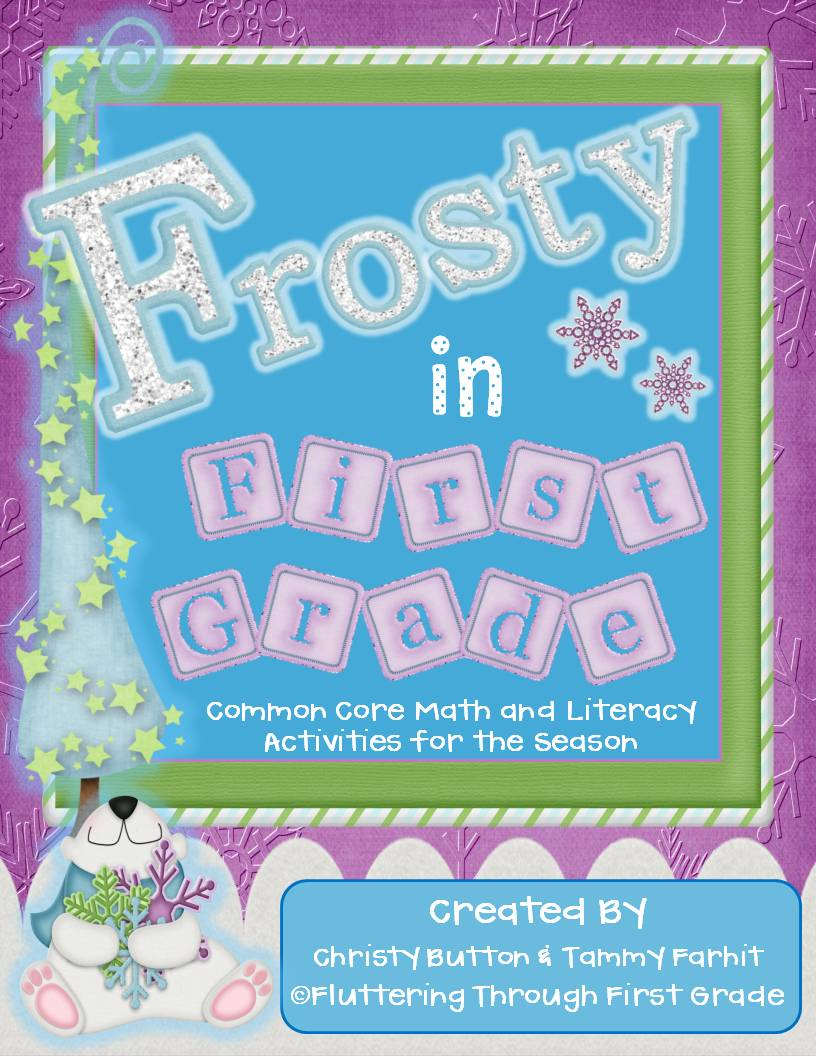 SNOW Close and a Frosty Giveaway! | Fluttering Through First Grade