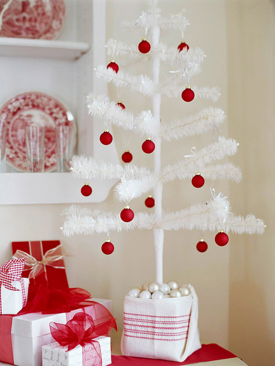Christmas Decorating 2012 Ideas For Small Spaces Modern