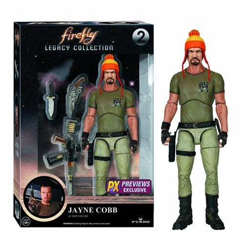 "Previews Exclusive Firefly Jayne Cobb with Hat Legacy Collection 6"" Action Figure"