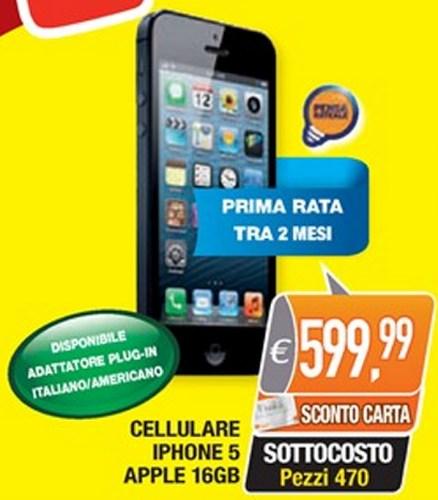offerta 3 iphone 5 c