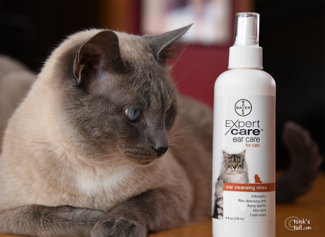 Maxie takes a look at Bayer Expert Care's Ear Cleaning Rinse