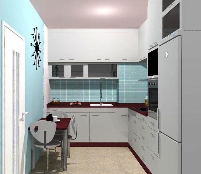 Nuestro proyecto del mes una cocina minimalista blog - Alicatado de cocina ...