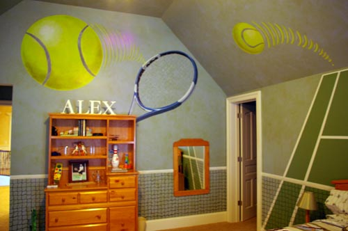 Sporty Teen Girls Rooms Design Dazzle