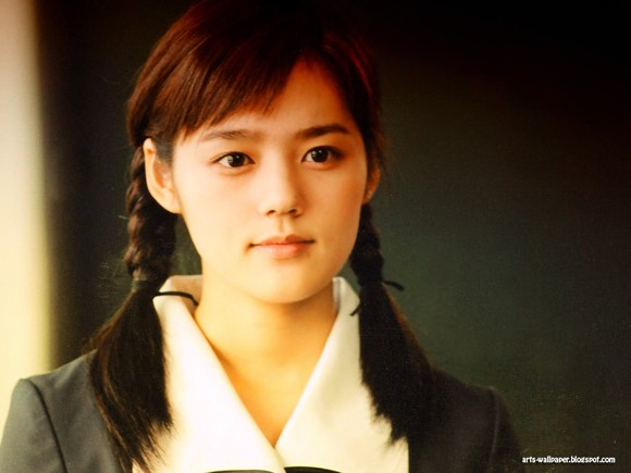 Girls Beauty Wallpaper Han Ga In 05