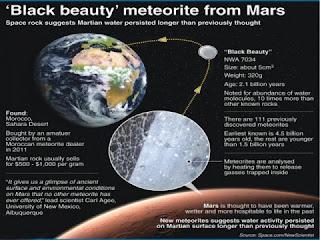 Black Beauty could yield Martian secrets