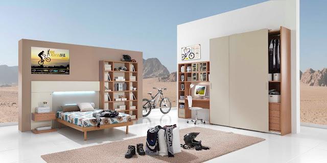 Chambre ado garcon design id es d co pour maison moderne for Chambre garcon design