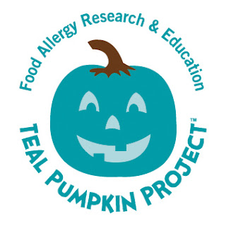 http://www.foodallergy.org/teal-pumpkin-project#.ViWAVSsYHnh