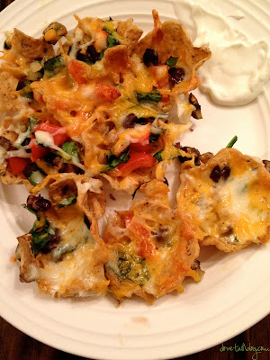 Deliciously Awesome {vegetarian} Nachos!