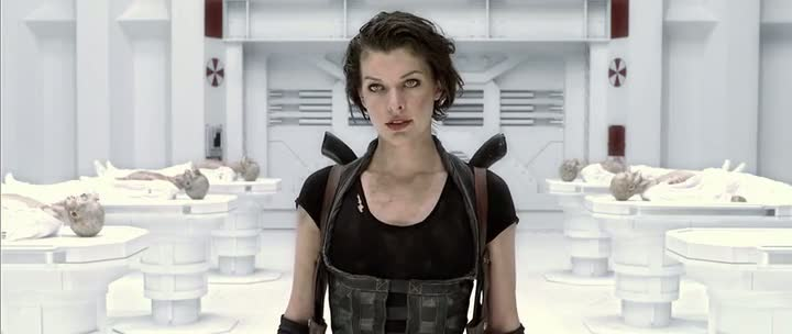 Screen Shot Of Resident Evil All Parts Dual Audio Movie 300MB small Size PC Movie