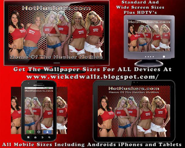Hot Huskers Husker Hotties Wallpaper