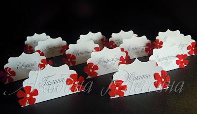 карточки рассадки гостей на свадьбе