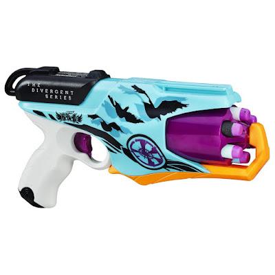 TOYS : JUGUETES - Nerf Rebelle : The Divergent Series  Allegiant Six-Shot Blaster | Pistola Lanzador Sextúple  PELICULA DIVERGENTE 3 LEAL  Producto Oficial Película 2016 | Hasbro B6604 | A partir de 8 años  Comprar Amazon España & buy Amazon USA