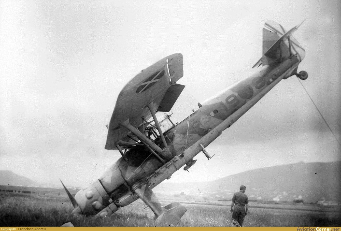 la légion condor et aviation italienne LC+HS-126+A-1+19-3+1938+COL+ANGEL+MARTINEZ+PLAZA+VIA+FCO+ANDREU