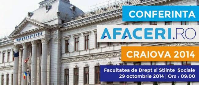 Conferinta Afaceri.ro la Craiova