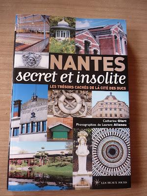 livre, nantes secret et inolite, Nantes, parc, jardin, bullelodie